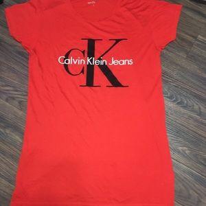 Calvin Klein Jeans T-Shirt Dress